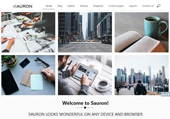 sauron-wordpress-theme