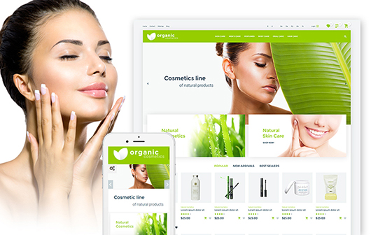 organic-cosmetics-template-templatemonster