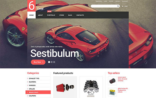 Car Templates - 55066-TemplateMonster