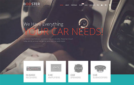 Car Templates - 55744-TemplateMonster