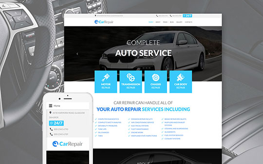 Car Templates - 59094-TemplateMonster