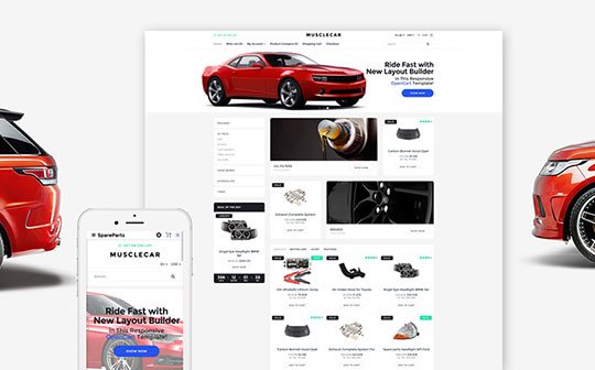 Car Templates - 59565-TemplateMonster