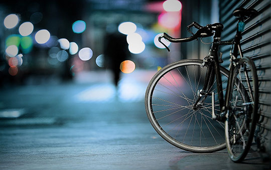 Bicycle-Bike-Bokeh-Lights-Macro-Pavement