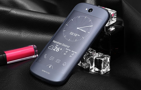 Yotaphone 2 Dual Screen Phone with Always-On Back Screen