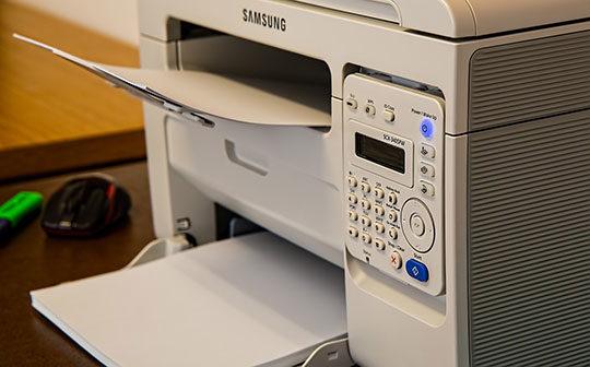 Printer-Desk-Office-Fax-Scanner