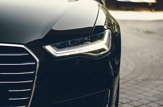 automotive car technology headlight lamp
