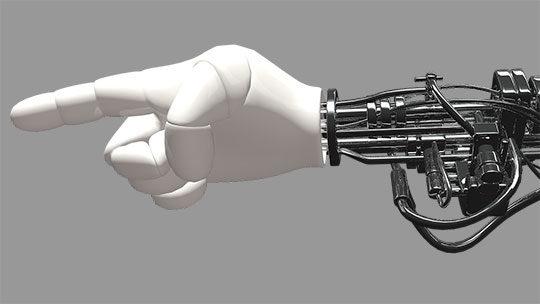 Robot - Machine - Artificial Intelligence