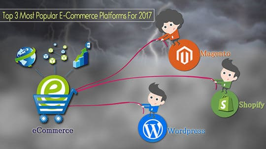 Top 3 eCommerce Platforms 2017