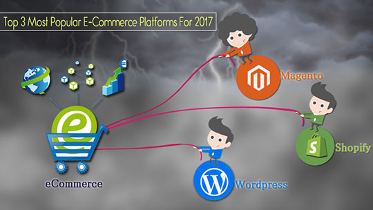 Top 3 eCommerce Platforms 2017