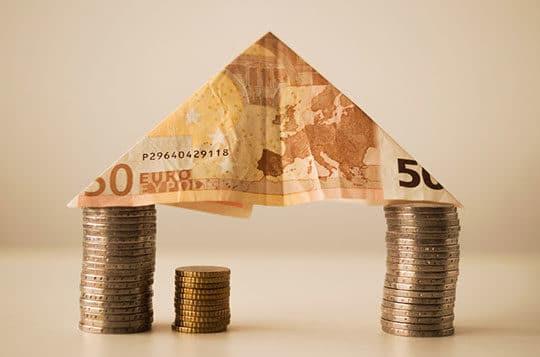 bank budget business cash coins euro finance money real estate revenue savings