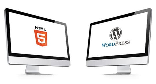WordPress Themes Vs HTML Templates