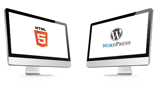WordPress Themes Vs HTML Templates
