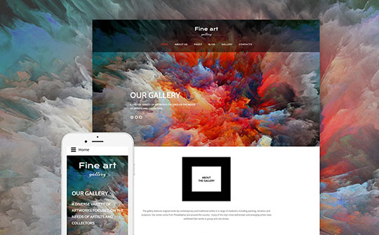 Fine-Art-Gallery-Joomla-Theme