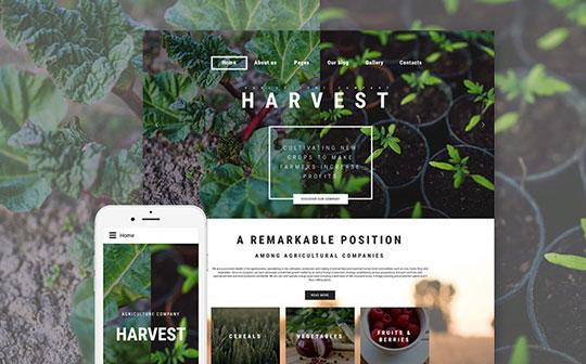 Harvest-Agriculture-Joomla-Theme