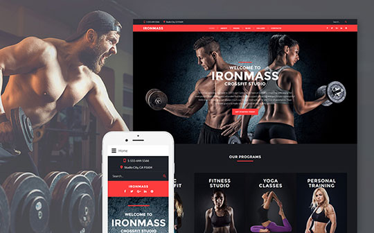 Ironmass-Fitness-Joomla-Template