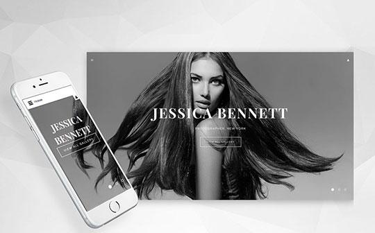 Jessica-Bennett-Photographer-Portfolio-Responsive-Joomla-Template