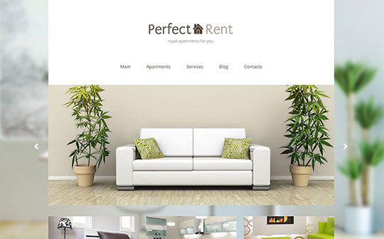 Perfect-Rent-Joomla-Theme