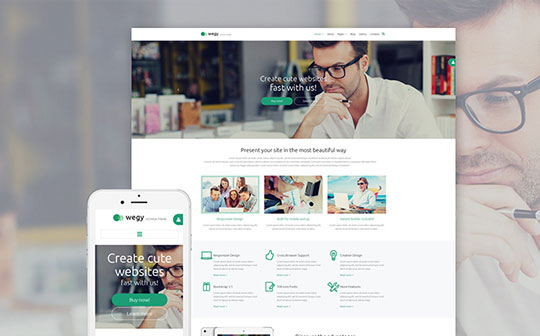 Wegy-Business-Joomla-Theme
