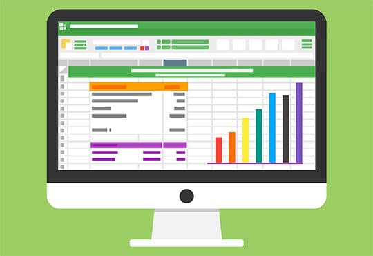 microsoft excel - office document -statistic-analytic-chart-diagram-finance-spreadsheet