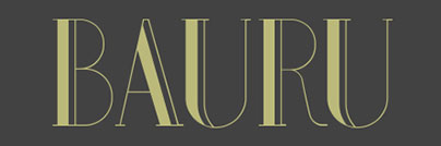 Bauru - Free Fonts for Logo Design