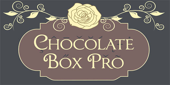 Chocolate-Box - Free Fonts for Logo Design