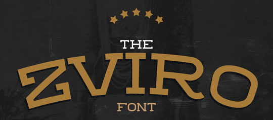 Zviro - Free Fonts for Logo Design