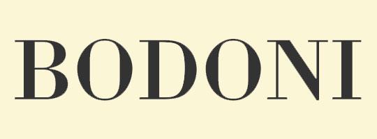 bodoni-font