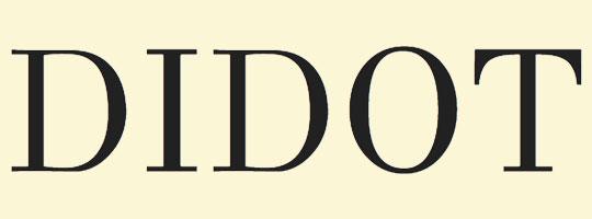 didot-font