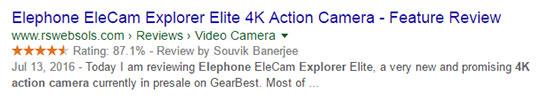 google-rich-snippet