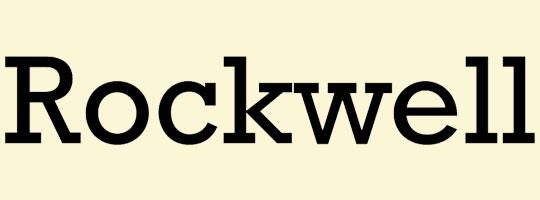 rockwell-font
