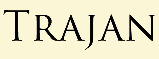 trajan-font