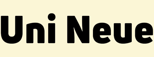 uni-neue-font