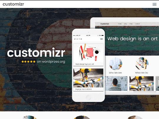 Customizr - WordPress Theme