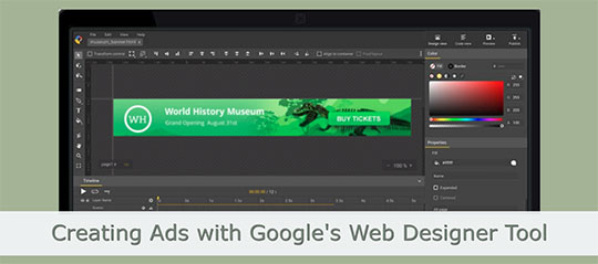 Design Interactive and Responsive ads with Google Web Designer Tool