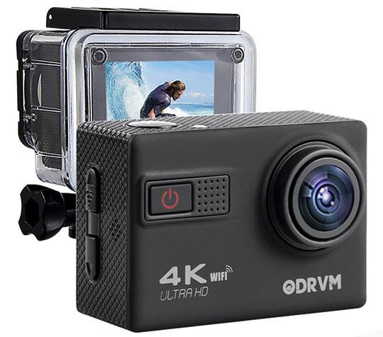 The ODRVM 4K Action Camera – 1