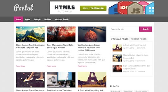 Portal - WordPress Theme