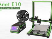 Anet E10 Aluminum Frame Multi-language 3D Printer DIY Kit