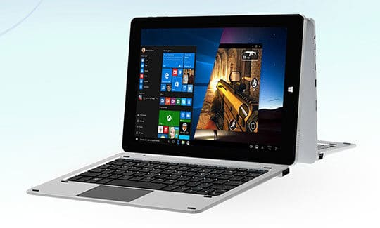CHUWI Hi10 Pro - 2-in-1 Ultrabook Tablet PC with Keyboard