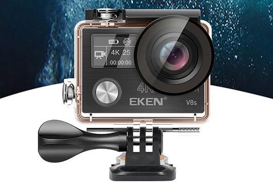 The EKEN V8s Native 4K EIS Action Camera - 1