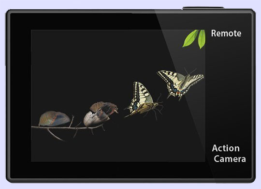 The EKEN V8s Native 4K EIS Action Camera - 2