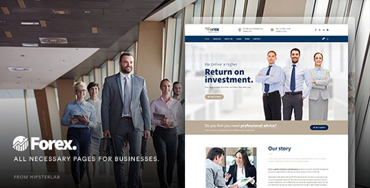 Forex-Business-Financial-WordPress-Theme