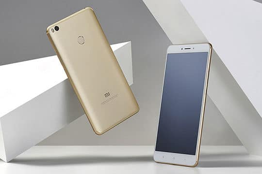 The Xiaomi Mi Max 2 4G Phablet