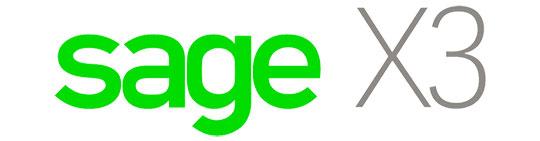 sage x3 - logo