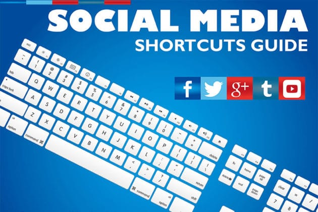A Cheat Sheet on Social Media Keyboard Shortcuts (Infographic)