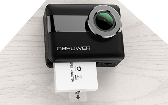 DBPOWER N6 4K WiFi Action Camera – 3