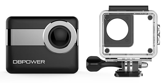 DBPOWER N6 4K WiFi Action Camera – 5