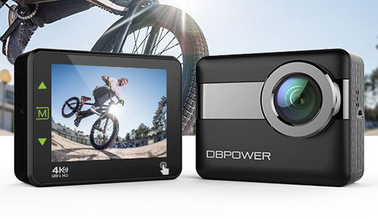 DBPOWER N6 4K WiFi Action Camera