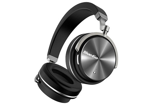 Bluedio T4 Portable Bluetooth Headphone - 1