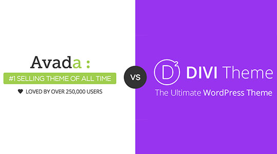 Divi Vs. Avada - Which Premium WordPress Theme is the Best Choice?