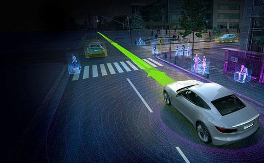 Self-Driving Cars - 4-Wheeler-Vehicle-Technology